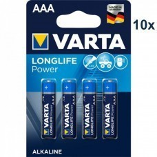 Varta 4903 High Energy AAA / Micro batteria 10x 4-Pack