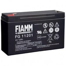 Fiamm FG11201 batería de plomo de 6 voltios