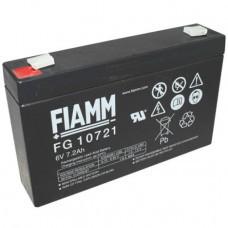 Fiamm FG10721 batería de plomo de 6 voltios