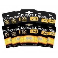 Duracell LR44, V13GA, GPA76, 82, LR1154, 357A Batería 10x Paquete de 2