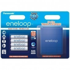 Panasonic Eneloop Plus AAA / LR03 Micro / 4 uds. Incl. AccuPower AccuSafe