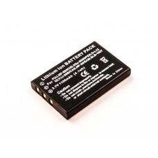 AccuPower batería adecuada para Fujifilm NP-60, EE-Pack-330