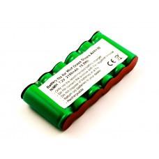 Batería adecuada para Wolf Grass Shears BS60, BS 60 7087000