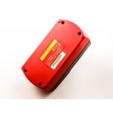 Batería adecuada para Metabo BSZ 18, 625.484