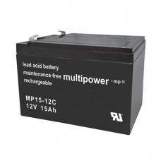 Batería Multipower MP15-12C