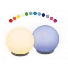 Luz decorativa LED en forma de bola con varias funciones de color 2 piezas, incluido el control remoto