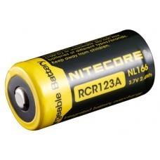 Batería Nitecore Li-Ion tipo 16340 NL166 con PCB