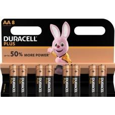 Paquete de 8 pilas Duracell Plus MN1500 AA / Mignon / LR6