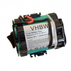 Batería VHBW para Gardena R40Li, R70Li, Husqvarna Automower 305, 308, 1500mAh