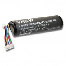 Batería VHBW adecuada para Garmin Astro System DC20