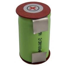 Batería VHBW para Braun 2500, 2500, 1.2V, NI-MH, 1100mAh