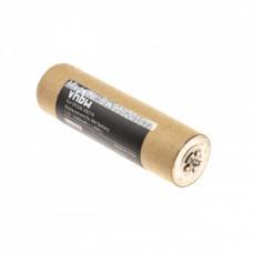 Batería VHBW para Panasonic ER206, ER216, NiMH, 1.2V, 1200mAh, WER213L2504