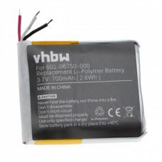 Batería VHBW para GoPro Hero 4 Session, 601-06750-000, 700mAh