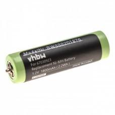 Batería VHBW AA / Mignon para Braun, como 67030923, NiMH, 1.2V, 1800mAh