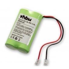 Batería universal NiMH 2.4V 2000mAh 2x AA serial