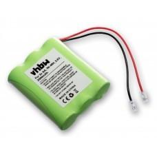Batería universal NiMH 3.6V 2000mAh 3x AA serial