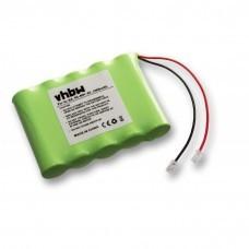 Batería universal NiMH 6V 2000mAh 5x AA serial