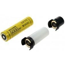 Nitecore NL2150HPi 5.0Ah, sistema de batería inteligente - Juego 2 (incluye MC21, ML21, MPB21)