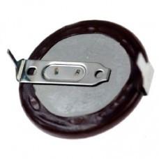de tipo botón Panasonic VL2020-1HF vanadio-litio recargable de la batería