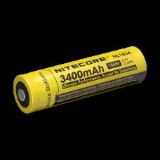 Batería Nitecore Li-Ion tipo 18650 3400mAh NL1834