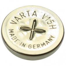 la batería VARTA V15H NiMH recargable de tipo botón, derivación para soldar Z