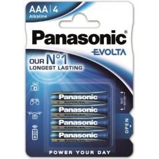 batería Panasonic Evoia AAA / Micro 4 alcalina
