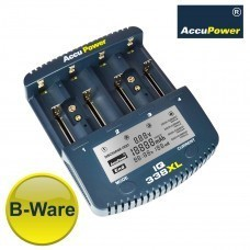 B-PRODUCT: AccuPower Universal IQ338XL Li-ion / Ni-Cd / Ni-MH-oplader